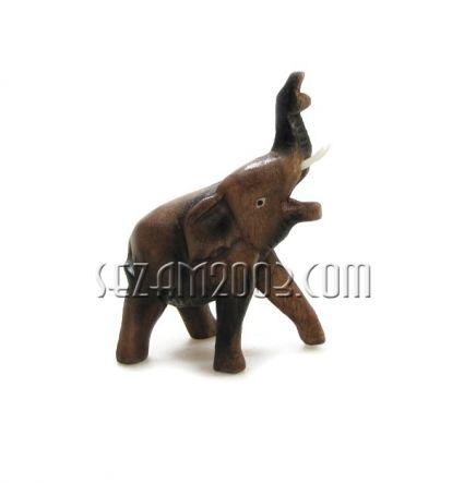 Слонче от дърво ръчна изработка