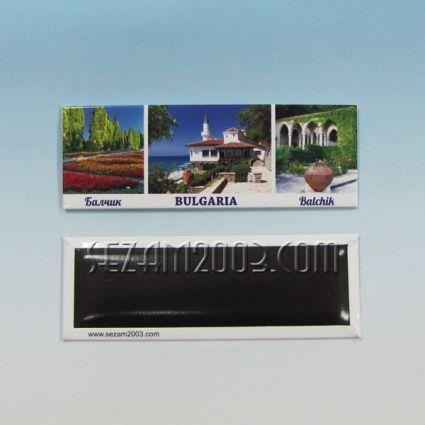 магнит за хладилник - метална пластина - БАЛЧИК