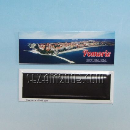 магнит за хладилник - метална пластина - ПОМОРИЕ