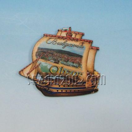 магнит мдф+снимка кораб-Обзор