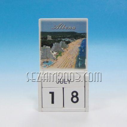 календар от дърво - АЛБЕНА