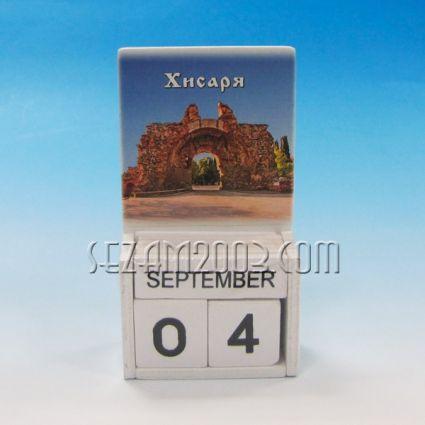 календар от дърво - ХИСАРЯ