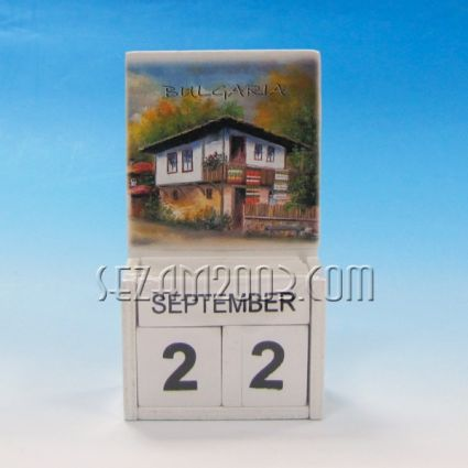 календар от дърво - БЪЛГАРИЯ