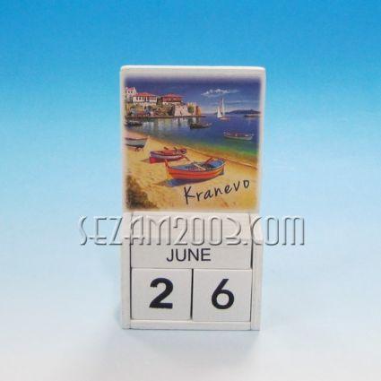 календар от дърво - КРАНЕВО