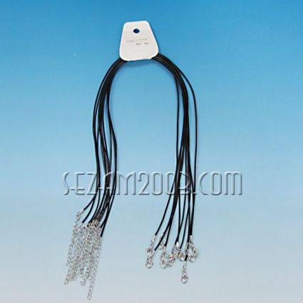връзка за висулка от връв със закопчалка -10бр.