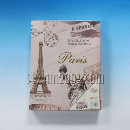 фотоалбум-от лукс хартия с винтидж декор за 100 снимки 10/15см в джоб