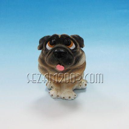 Куче - касичка от резин