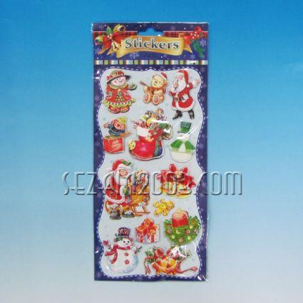Коледни стикери 10 бр. комплект