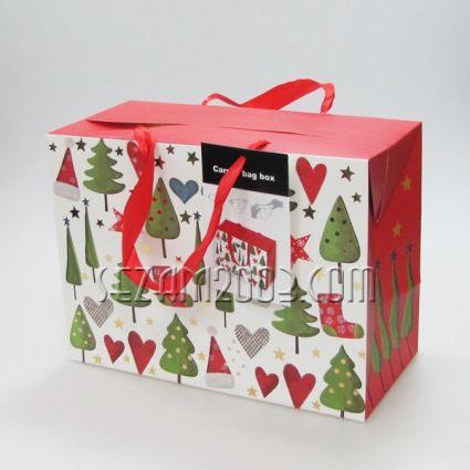 Кутия-торба коледна