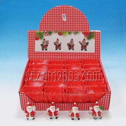 Д.Коледа - коледна фигурка от резин в х.торбичка