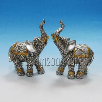 Слончета 2 броя комплект - фигури от резин