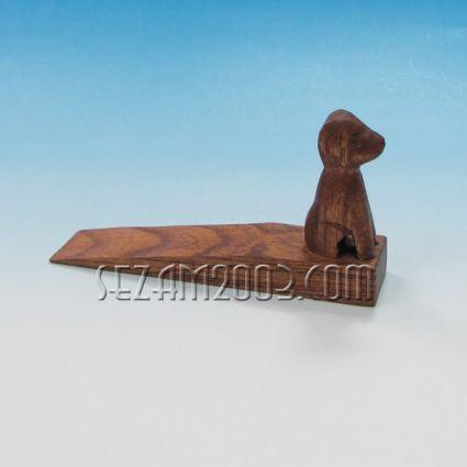 Дървен стопер за врата с  фигурка на животно