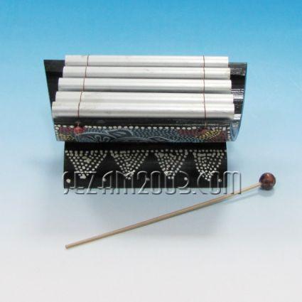 КСИЛОФОН - декориран сувенир от бамбук и метал