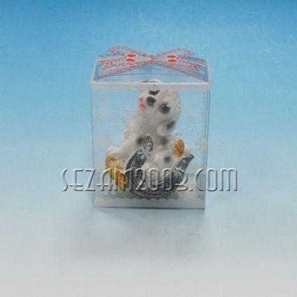 КУЧЕ фигура от полирезин в подаръчна кутийка