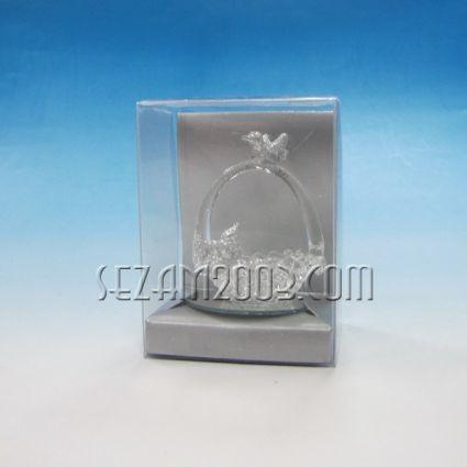 Пиленца -сувенир от стъкло в подаръчна кутийка