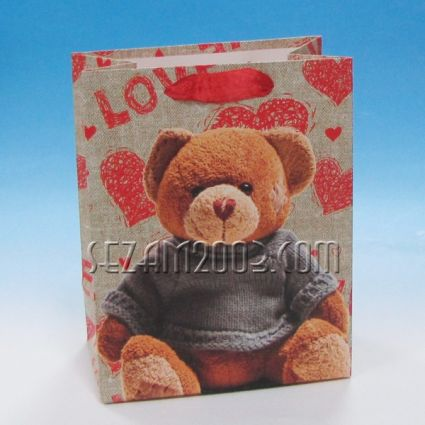 Подаръчна торбичка от лукс хартия - МЕЧЕ