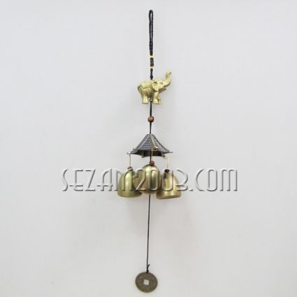 pendant / wind bell from brass