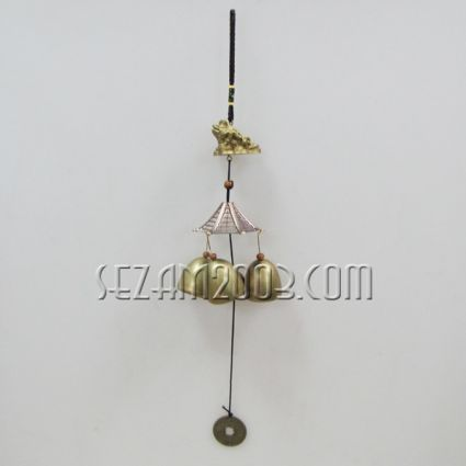 pendant / wind bell made of brass