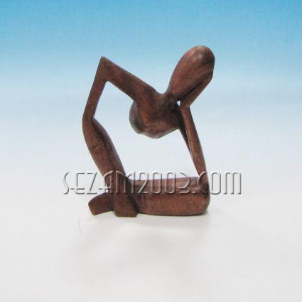 Абстракт - фигура от дърво  ръчна изработка