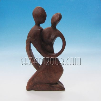 Абстракт - фигура от дърво