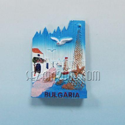 fridge magnet from polirezin