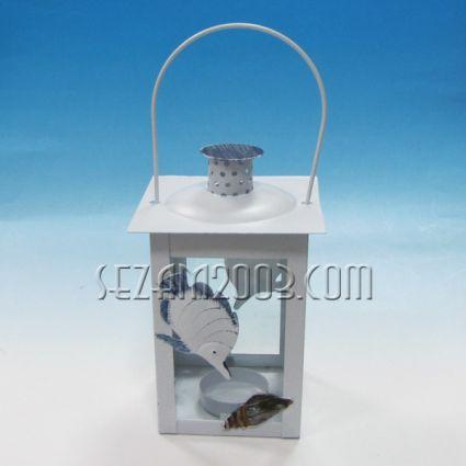 фенер от метал с морски декор