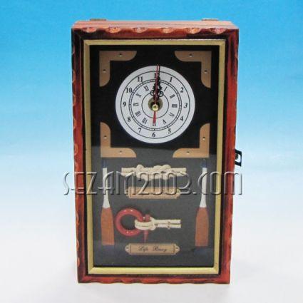 кутия за ключове+часовник с морски възли и декор-6 модела