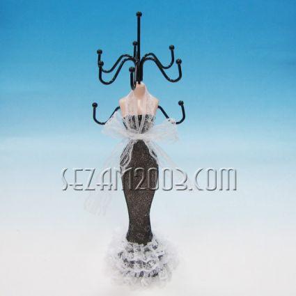 Манекен - поставка за бижута -4 цв.