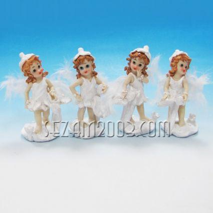 Ангелчета с пух - фигурки от полирезин