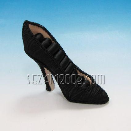 обувка - поставка за бижута от пластмаса и плат