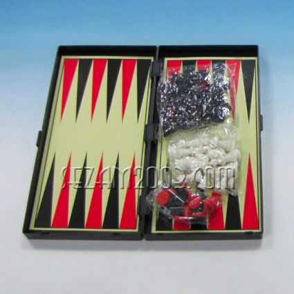 Chess / Backgammon - 3 in 1 games in a plastic box