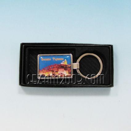 Ключодържател метален+лукс кутийка с пейзаж от В.Търново