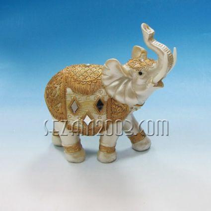 Фигура на слон от резин