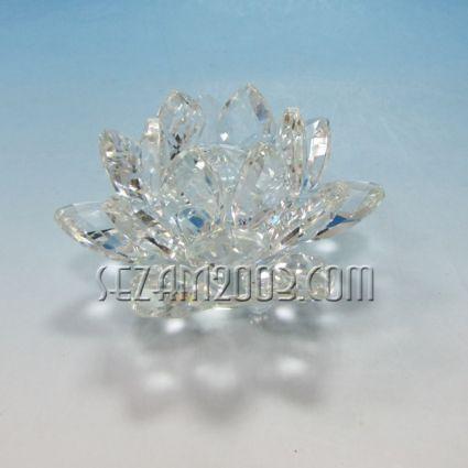 Лотос-сувенир от стъкло