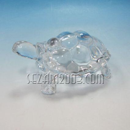 Костенурка-фигура от стъкло