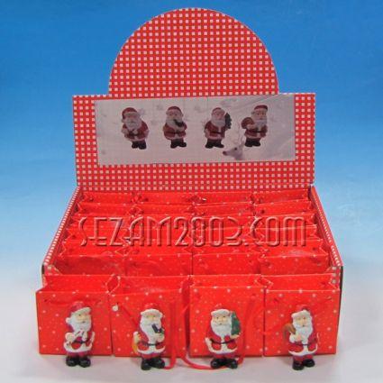 Дядо Коледа -  фигурка от резин в х.торбичка