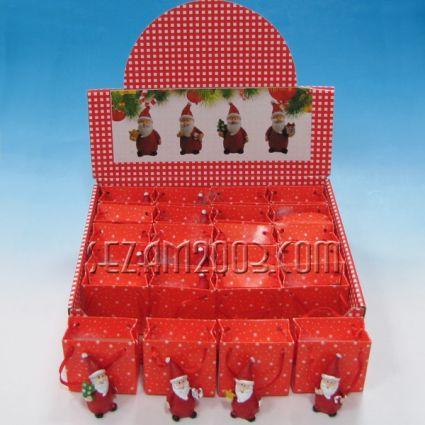 Коледни фигурки от резин в х.торбичка