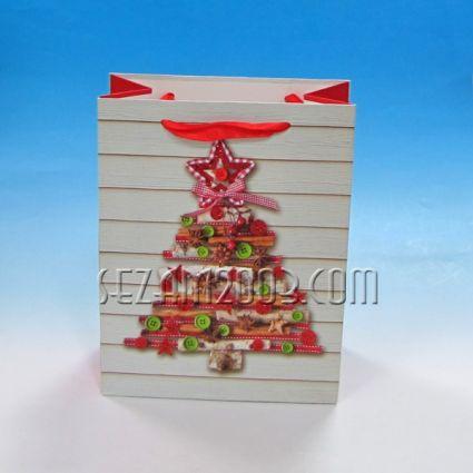 Подаръчна торбичка от лукс хартия - арт ЕЛХА