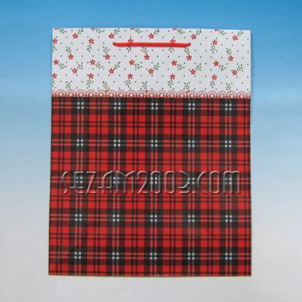Подаръчна торбичка от лукс хартия мъжки декор