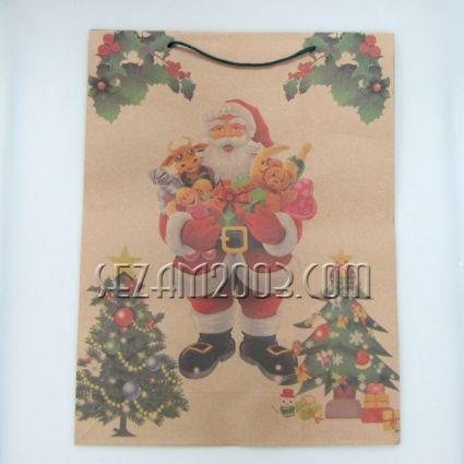 Подаръчна торбичка хартия - КОЛЕДА