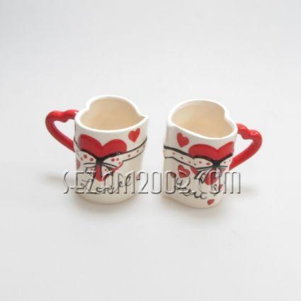 Чаши керамика 2 бр.к-кт