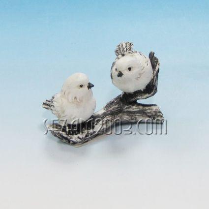 Гълъбчета двойка - фигура от резин