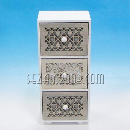 Кутия с 3 чекмеджета настолна