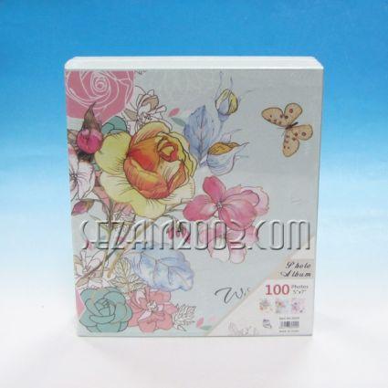 Албум за 100 снимки в джоб - винтидж цветя