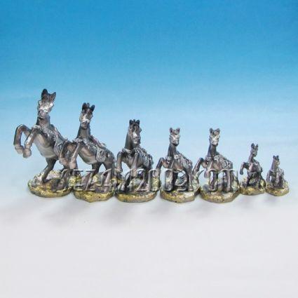 Кончета декорирани 7 бр.к-т - фигурки от резин