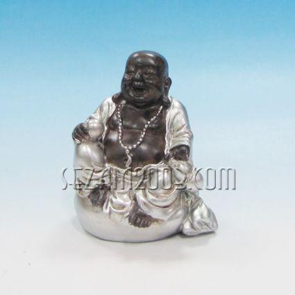 Буда щастлив седнал - фигура от резин