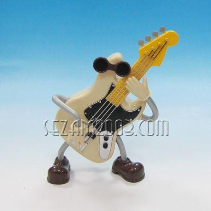 Китара - сувенир с музикален и подвижен механизъм