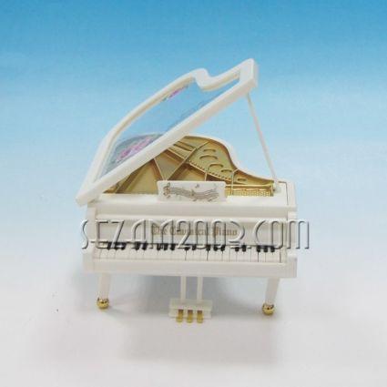 Роял от пластмаса - сувенир с музикален  механизъм