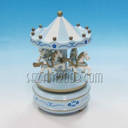 Детска въртележка - сувенир с музикален и подвижен механизъм