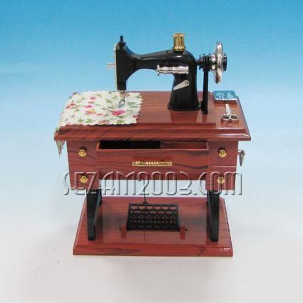 Шевна машина - сувенир с музикален и подвижен механизъм